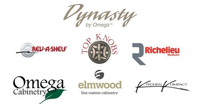 cabinetry options logos for upscale remodeling
